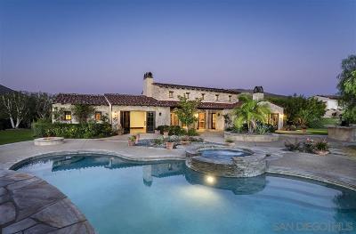 Rancho Santa Fe Single Family Home Pending: 4277 Via Ravello