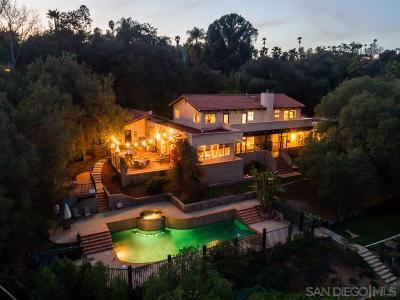 Escondido Single Family Home For Sale: 2785 Las Palmas