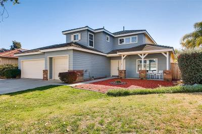 Oceanside Single Family Home For Sale: 1615 Shire