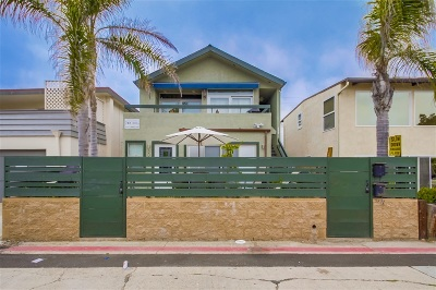 Multi Family 2-4 For Sale: 806 - 808 San Luis Rey Place