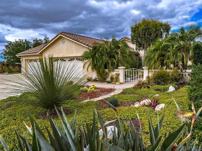 Fallbrook Single Family Home For Sale: 2305 Harvest Vista Ln