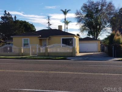 San Diego Single Family Home For Sale: 1333 47th St
