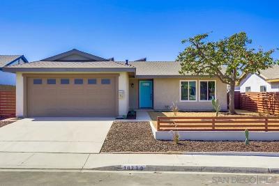 Mira Mesa, Mira Mesa - Canyon Country, Mira Mesa North, Mira Mesa Ridgecrest, Mira Mesa Verde, Mira Mesa Verde 03, Mira Mesa Verde 26 Single Family Home For Sale: 10230 Mayor Cir