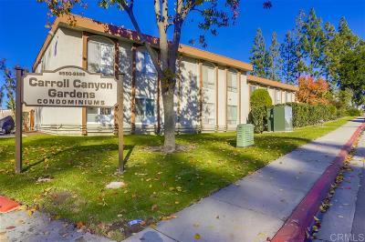 Mira Mesa, Mira Mesa - Canyon Country, Mira Mesa North, Mira Mesa Ridgecrest, Mira Mesa Verde, Mira Mesa Verde 03, Mira Mesa Verde 26 Attached For Sale: 9556 Carroll Canyon Rd #244