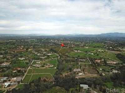 Fallbrook Residential Lots & Land For Sale: 4420 Sleeping Indian Rd #05 & 12