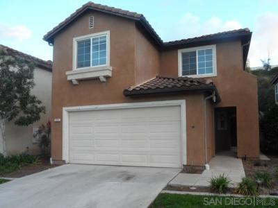 Chula Vista Single Family Home Contingent: 820 Caminito Cumbres