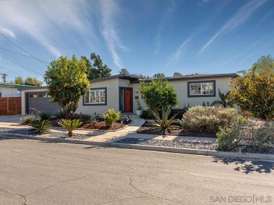 Single Family Home For Sale: 3601 Christine St