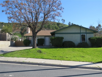 Santee Single Family Home For Sale: 10051 Carlton Hills Blvd.