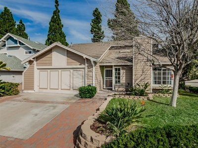 Oceanside Single Family Home For Sale: 1695 Bronco Way