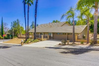 Fallbrook Single Family Home For Sale: 322 Merida Dr