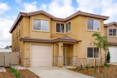 el cajon Single Family Home For Sale: 1327 Bailey Way