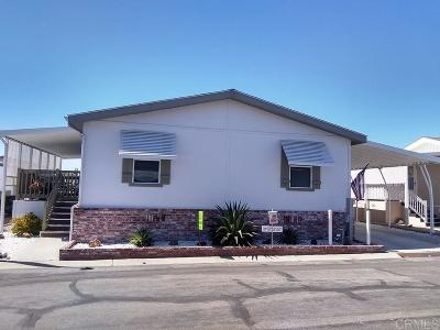 San Marcos Mobile/Manufactured For Sale: 2280 E Valley Pkwy #100