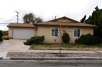 San Diego CA Single Family Home For Sale: $639,000