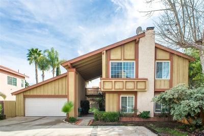 San Diego Single Family Home For Sale: 10445 La Morada