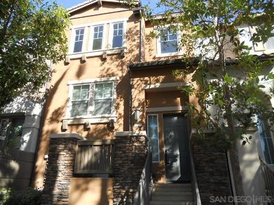 Santee Townhouse For Sale: 9804 Old Tree