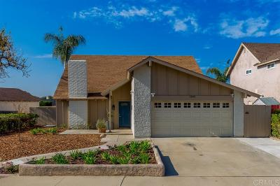 Chula Vista Single Family Home For Sale: 1390 Don Carlos Ct