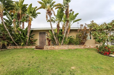 Clairemont Single Family Home For Sale: 5406 Peyton Pl
