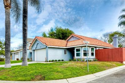 Oceanside Single Family Home For Sale: 5467 Gooseberry Way