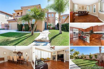 4s Ranch, 4s Ranch/Garden Walk, Del Sur, Del Sur Community Single Family Home For Sale: 17027 Sienna Ridge Dr