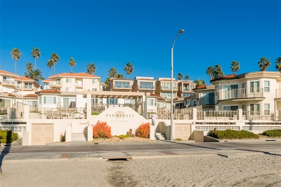 Oceanside Attached For Sale: 600 N The Strand #2