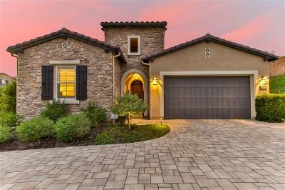 Carlsbad Single Family Home For Sale: 3454 Trailblazer Way