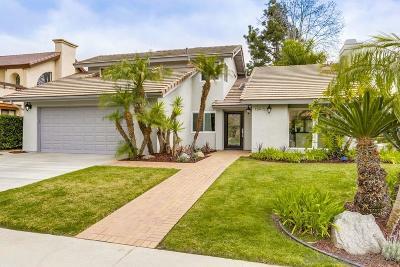 Rancho Santa Fe Single Family Home Pending: 15915 Avenida Calma