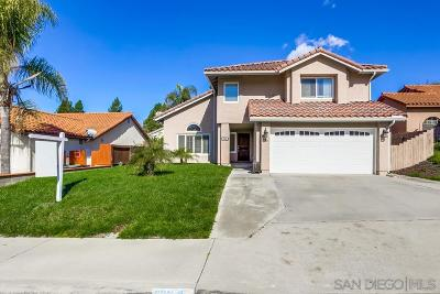 Chula Vista Single Family Home For Sale: 983 Paseo Entrada
