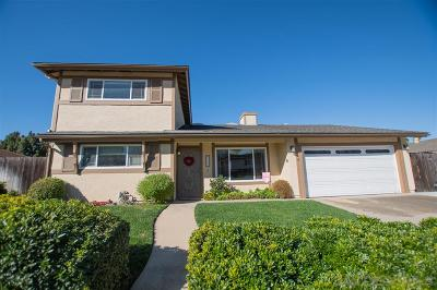 Escondido Single Family Home For Sale: 2123 Habero Dr.