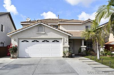 Chula Vista Single Family Home For Sale: 748 Diamond Dr.