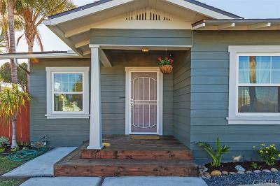 San Diego Single Family Home For Sale: 4406 Copeland Ave