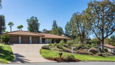 Poway Single Family Home For Sale: 13029 Camino Del Valle