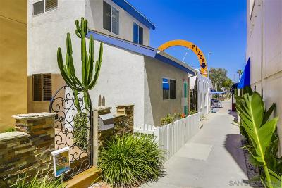 Pacific Beach, Mission Beach Single Family Home For Sale: 728 Redondo Ct