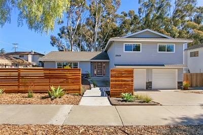 Single Family Home For Sale: 2949 Mesa