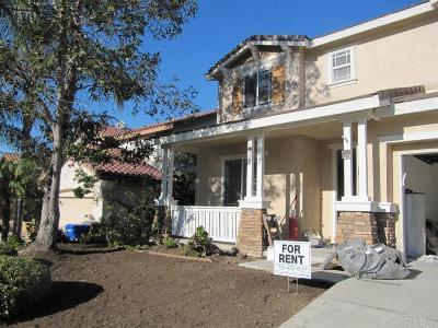 San Marcos Rental For Rent: 859 Via Barquero