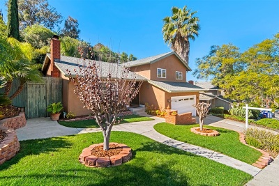 San Diego Single Family Home For Sale: 4828 54th St.