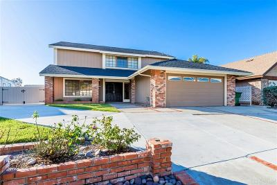 Oceanside Single Family Home For Sale: 2811 Brandeis Dr