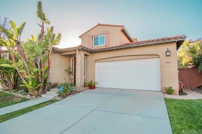 Carlsbad Single Family Home For Sale: 3441 Ravine Dr