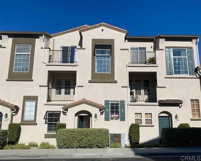 Carlsbad Townhouse For Sale: 6232 Via Trato