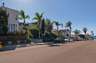 La Jolla Townhouse For Sale: 329 Bonair Street #4