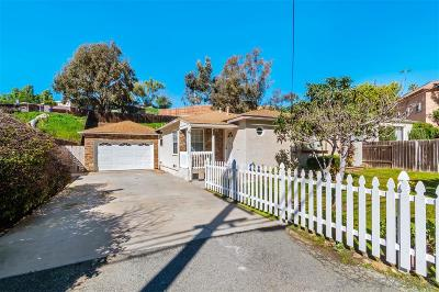 San Diego Single Family Home Pending: 918 Madera St