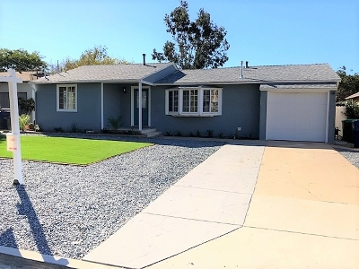 La Mesa Single Family Home For Sale: 3362 Niblick Dr