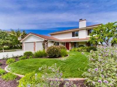Solana Beach Single Family Home For Sale: 978 Santa Florencia