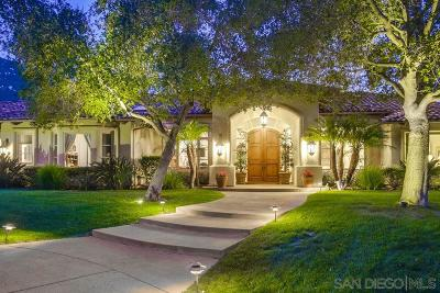 Poway Single Family Home For Sale: 14940 Oak Trail Court