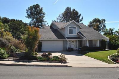 Single Family Home For Sale: 4215 Tambor Court