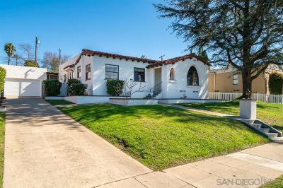 El Cerrito, El Cerrito/West College Single Family Home For Sale: 4573 56th Street