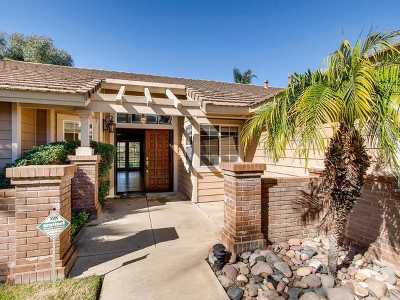 Escondido Single Family Home For Sale: 1139 Whispering Highlands Drive
