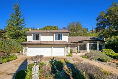 Escondido Single Family Home Pending: 10142 Lake Meadow Lane