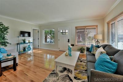 San Diego Single Family Home For Sale: 1154 Evergreen Street