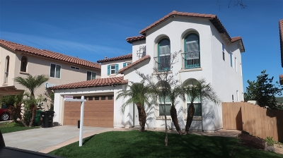 San Diego Single Family Home For Sale: 5314 Topsail Drive