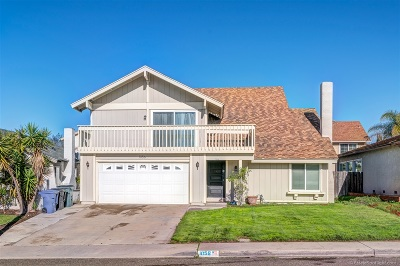 Chula Vista Single Family Home For Sale: 1056 Buena Vista Way
